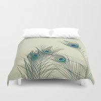 cassia beck Duvet Covers featuring All Eyes Are on You by Cassia Beck
