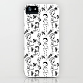Zombie zombie zombie iPhone Case