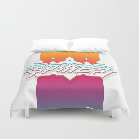 Spires : Crystyl Cystlys Spectrym  Duvet Cover