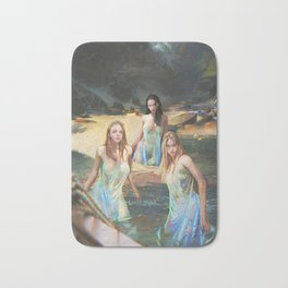 "Sirens (""Charm of of the Ancient Enchantress"" Series) Bath Mat"