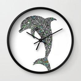 Jumping Dolphin Wall Clock