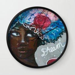 Dream Up Girl Wall Clock