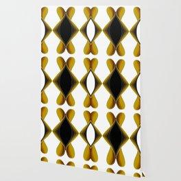 Graphic Art Diamante Pattern Wallpaper
