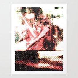 Le Procope - Glitch 02 Art Print