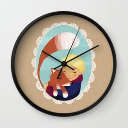 The little prince, Forever friends Wall Clock