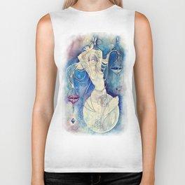 Goddess of Libra - An Air Element Biker Tank