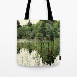 REFLECTIONS ON LOUGH DERG Tote Bag
