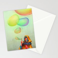 Bubbles of Color Stationery Cards