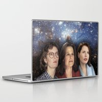 casablanca Laptop & iPad Skins featuring THE THREE GREAT LADIES by Kaitlin Smith