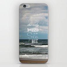 In the Sea iPhone & iPod Skin