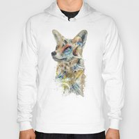 starfox Hoodies featuring Heroes of Lylat Starfox Inspired Classy Geek Painting by Barrett Biggers