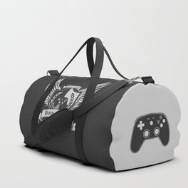 Born to Play - Video game Tattoo Crest Duffle Bag