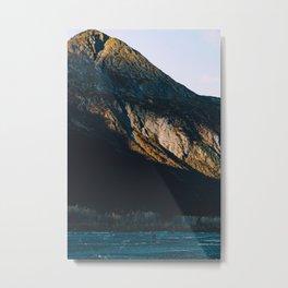 Fire on the Mountain III Metal Print
