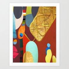 Kiso - (The Sights Of Japan)  By Zabu Stewart Art Print
