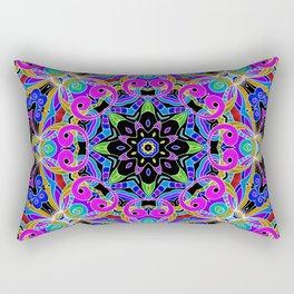 Drawing Floral Doodle G4 Rectangular Pillow