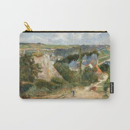 1882 - Gauguin -  Entrance to the Village of Osny Carry-All Pouch