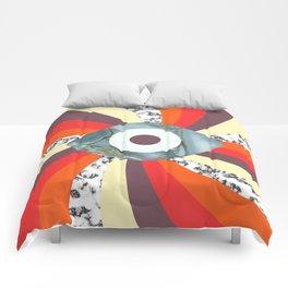 Hypno Retro Eye Comforters