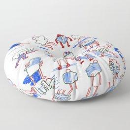 Buncha Folks Alternate Floor Pillow
