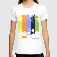 teen titans T-shirts featuring Vector Titans by Hybryda