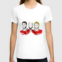 blackhawks T-shirts featuring Toews & Kane by Kana Aiysoublood