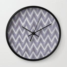 Origami ZigZag Wall Clock