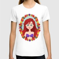 ariel T-shirts featuring Ariel  by Joey Ellson