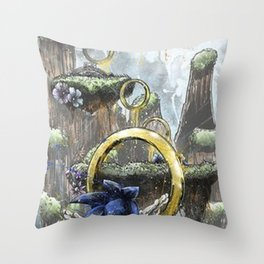 sonic Throw Pillow