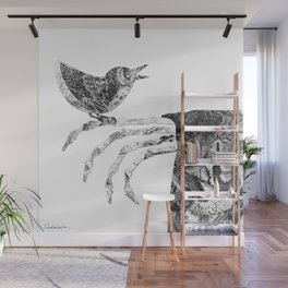 Death and the Nightingale Wall Mural