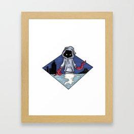 City Wraith Framed Art Print