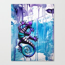 The LIZARD Canvas Print