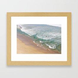 Bondi Dip Framed Art Print