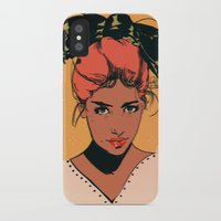 bow iPhone & iPod Cases featuring bow by Galvanise The Dog