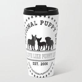 National Puppy Day Travel Mug