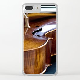 Cello in Repose Clear iPhone Case