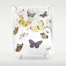 The Enchantment of Flight Shower Curtain