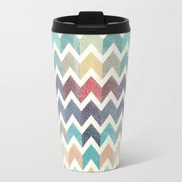 Glitter Chevron IV Travel Mug
