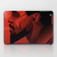 django iPad Cases featuring Django Low Poly | Alternative poster by Lorenzo Imperato