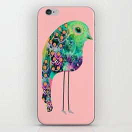thr boho rainbow bird iPhone Skin