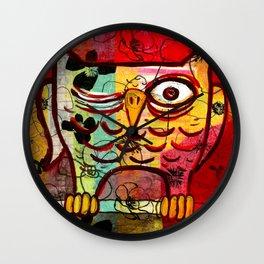 Owl Dusk Wall Clock