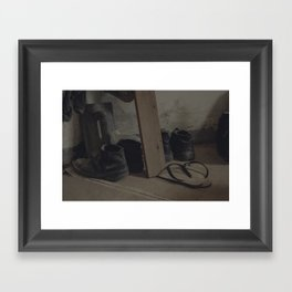 the loving home of no one Framed Art Print