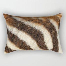 Zebra Fur Rectangular Pillow