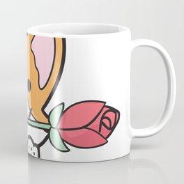 Valentine's Day Corgi Coffee Mug