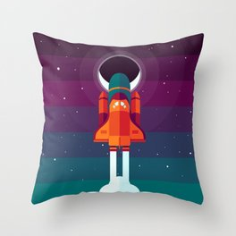 Into Spaaaace Throw Pillow