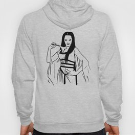 Lilly Munster of the Munsters Illustration Hoody