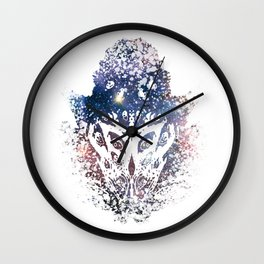 You don't see it until you do. Wall Clock