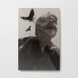 Eagle Boy Metal Print