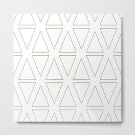 Winter Hoidays Pattern #18 Metal Print