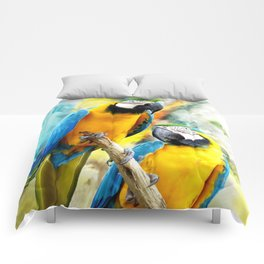 Macaw friends Comforters
