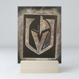 Vegas Golden Knights Logo 5/19 Mini Art Print