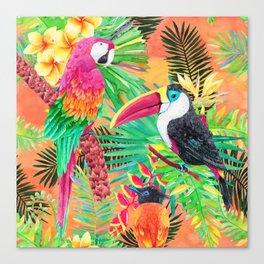 Tropicana - Sunrise Canvas Print